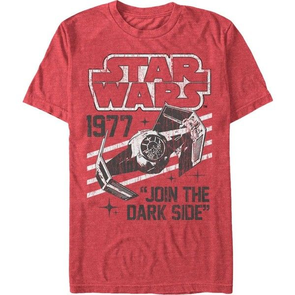8f06caa848 Join The Dark Side Star Wars T-Shirt ( 37) ❤ liked on Polyvore featuring  tops