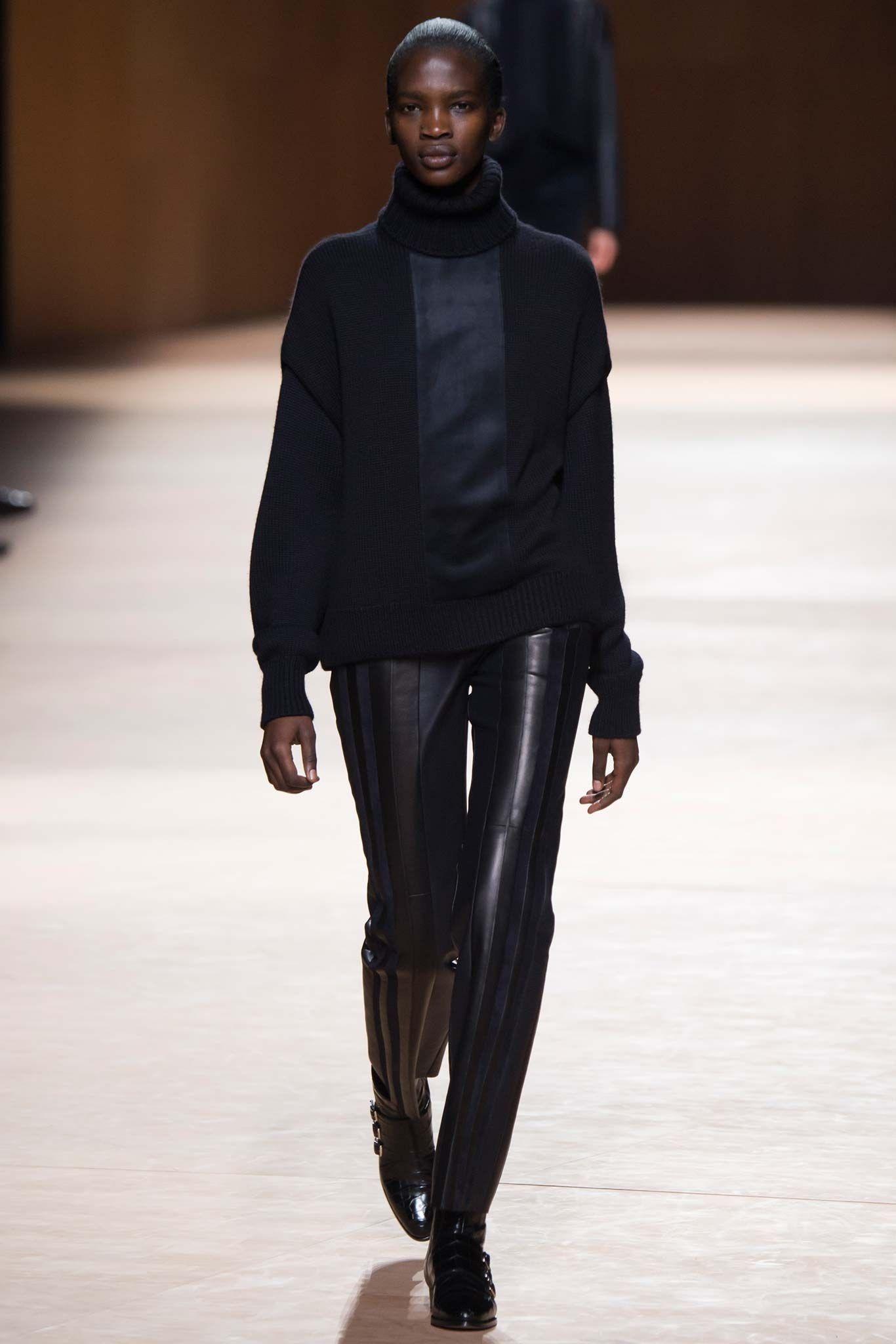 Hermès Fall 2015 Ready-to-Wear Fashion Show - Aamito Stacie Lagum