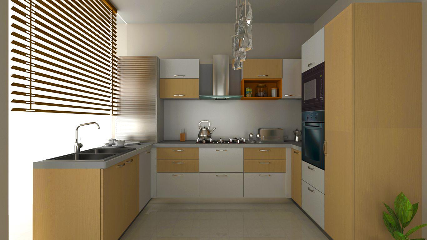 U shaped modular kitchen | U shaped modular kitchen | Pinterest