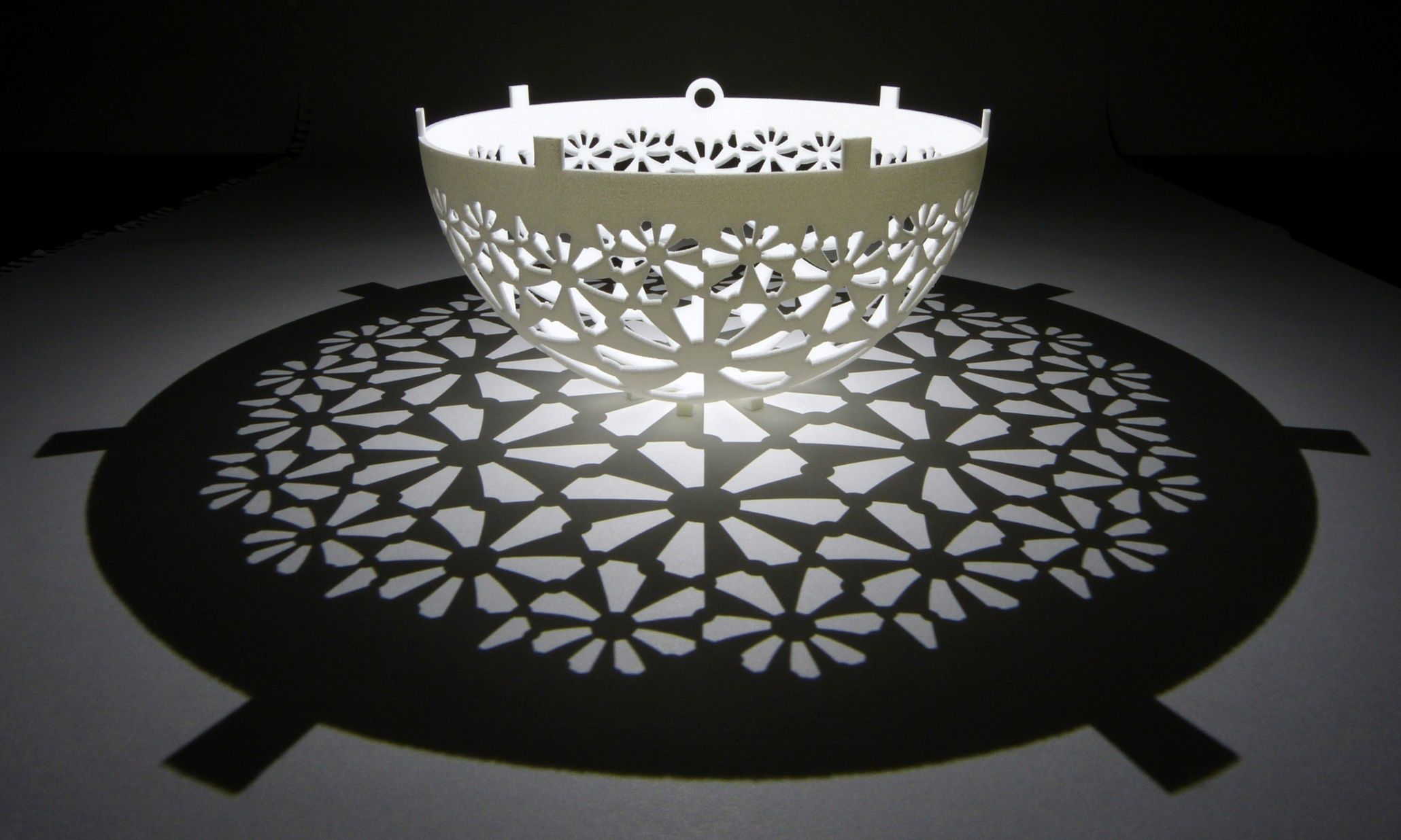 Pumpkin geometry: stunning shadow sculptures that illuminate an ... for Light Shadow Sculpture  5lpkxo