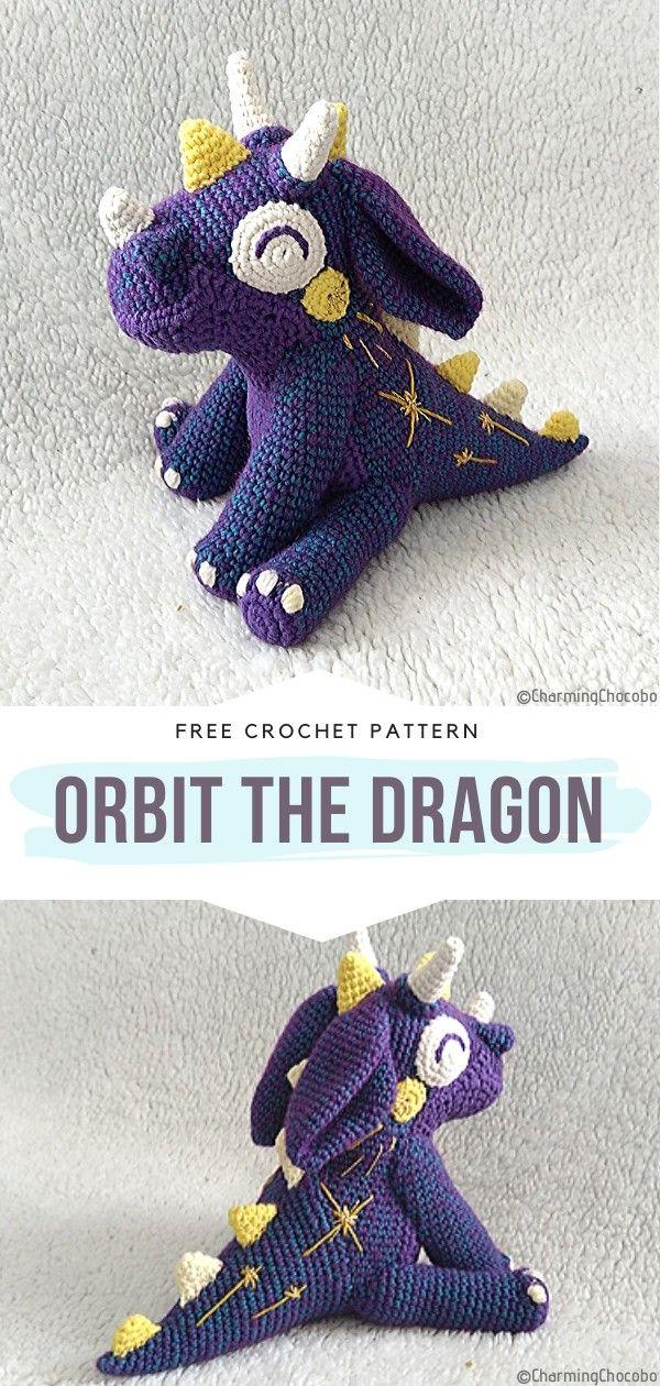 How to Crochet Orbit the Dragon