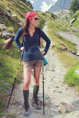 Stock Photo Trekking Outfit Outdoor Outfit Hiking Fashion