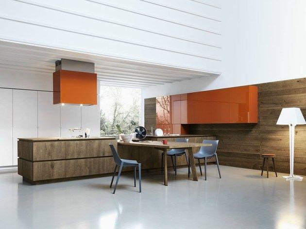 Cloe Mimialist Knotted Oak Kitchen From Cesar Minimalist Living