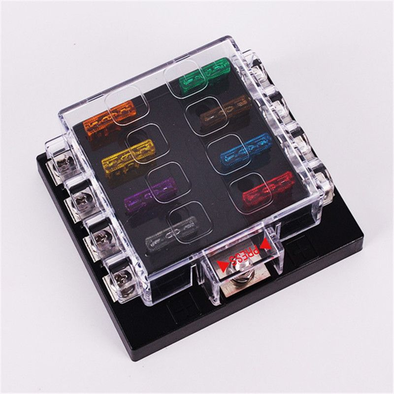 universal 32v 30a 8 way fuse box block fuse holder box high quality rh pinterest co uk