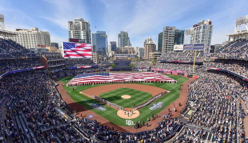 Petco Park San Diego Padres Ballpark Ballparks Of Baseball Petco Park Mlb Stadiums San Diego Padres