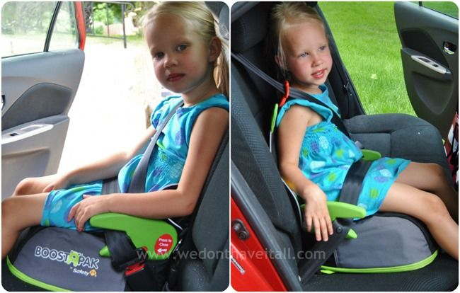 keep your big kid safe with the boostapak belt positioning booster car seat from safety