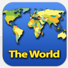 Tap quiz world ipad pinterest tapquiz maps world edition ios sciox Images