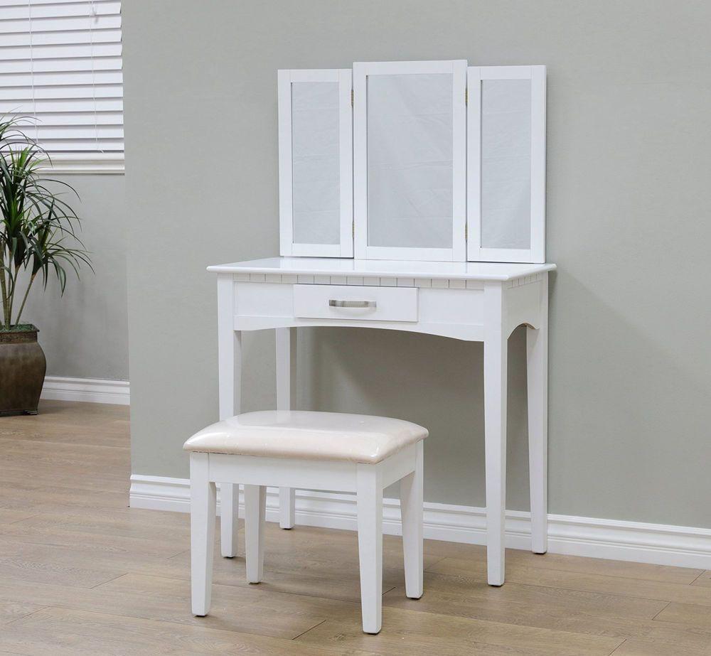 Modern dressing table mirrors makeup vanity set dressing table mirror seat make up bedroom