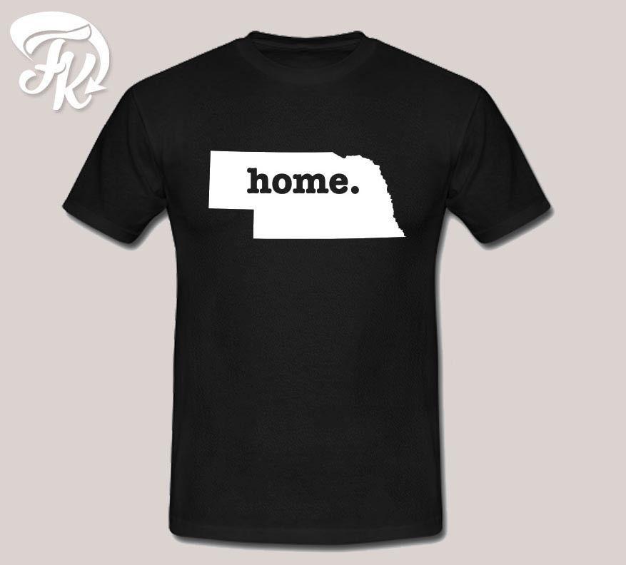 Nebraska Home Design Men Or Unisex T Shirt