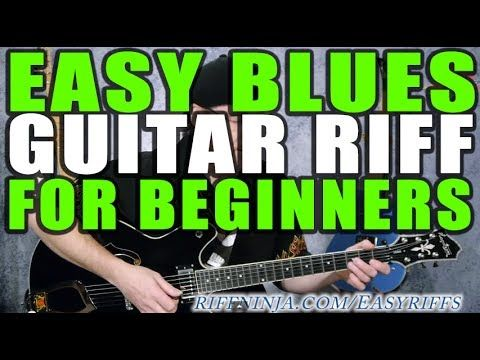 Easy Blues Guitar Riff For Beginners Electric Guitar Masters