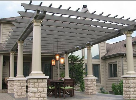 Fiberglass Pergola Kits For Sale » Pergola.com