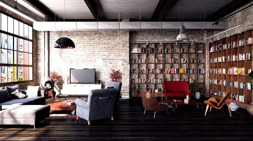 Home Improvement Archives Loft Interiors Rustic Living Room Loft Design
