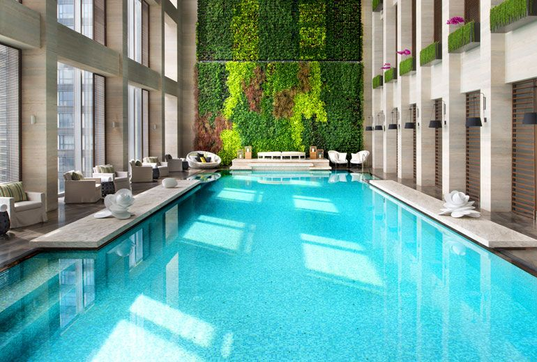 W guangzhou luxury hotels indoor swimming pools - Luxury above ground pools ...
