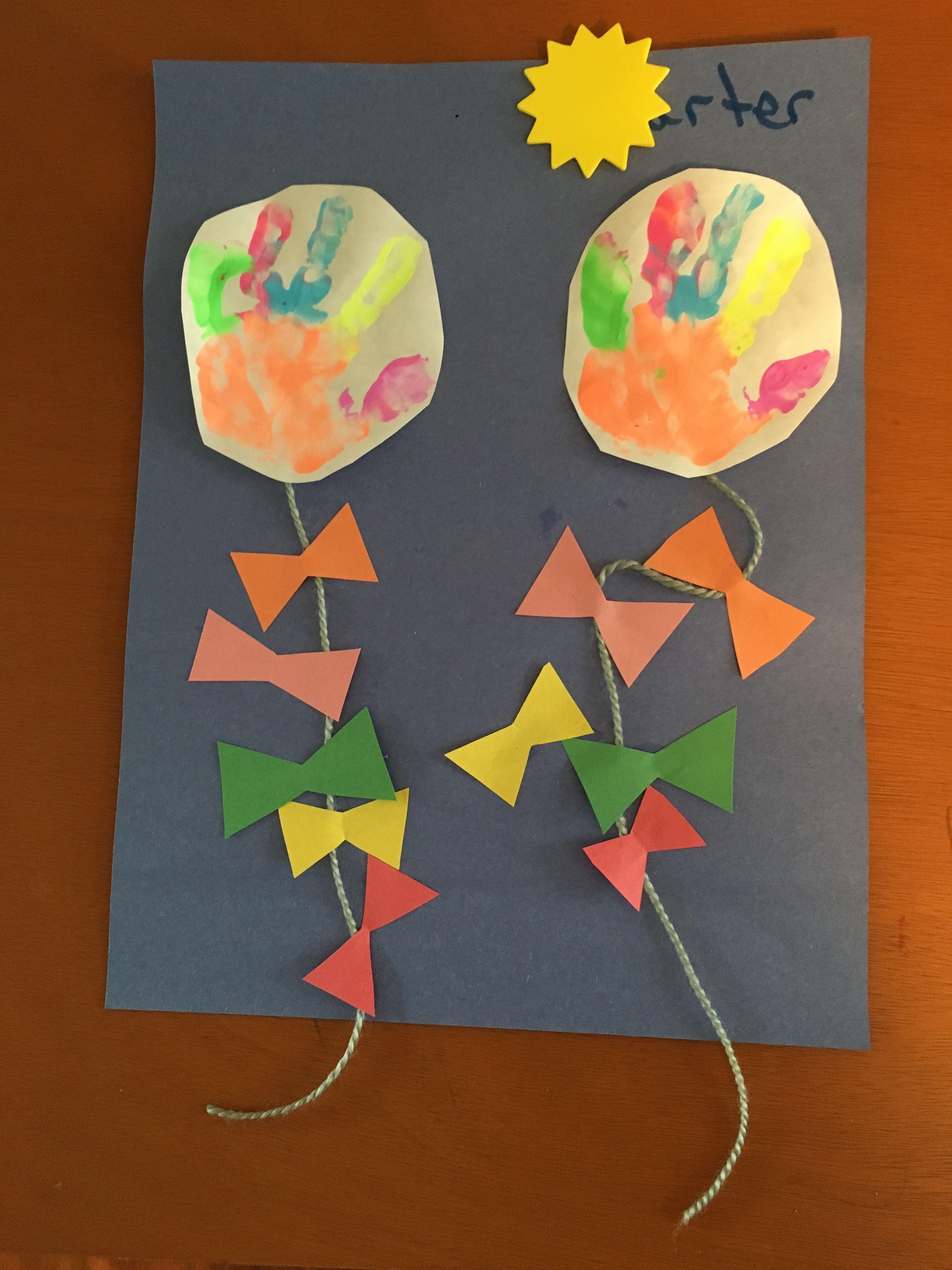 handprint kites