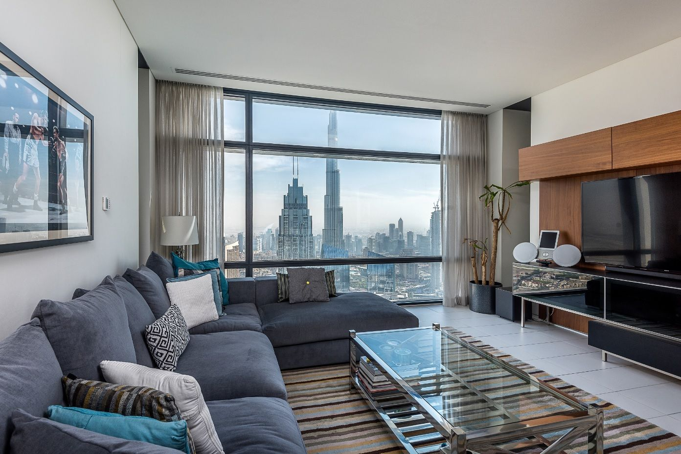 Imagine living in this luxury apartment in the index with the view