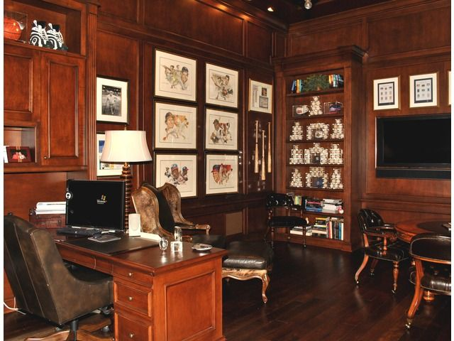 Another Baseball Fan Like Me Home Office In Mediterra Home Naples Simple Home Office Furniture Naples Fl