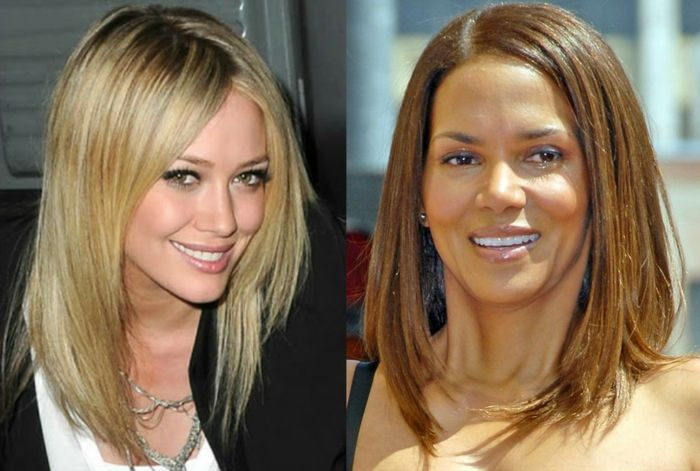 The square hairstyle plunging - only stylish options | Carré plongeant blond, Coiffure carré ...