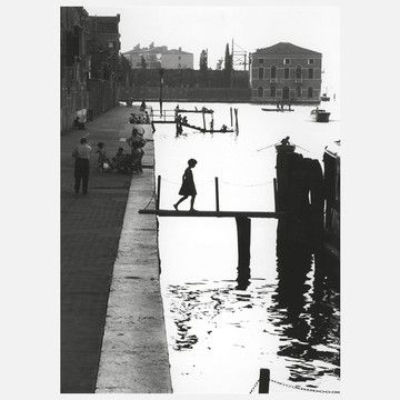 Fondamenta Nuove Venise by Willy Ronis