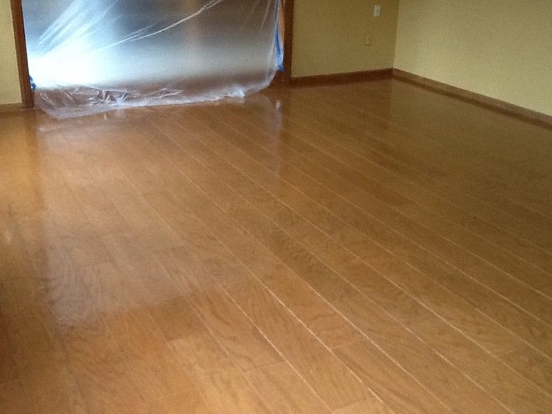 Hardwood Floor Buffing By Monks Carpet Removal And Floor Buffing