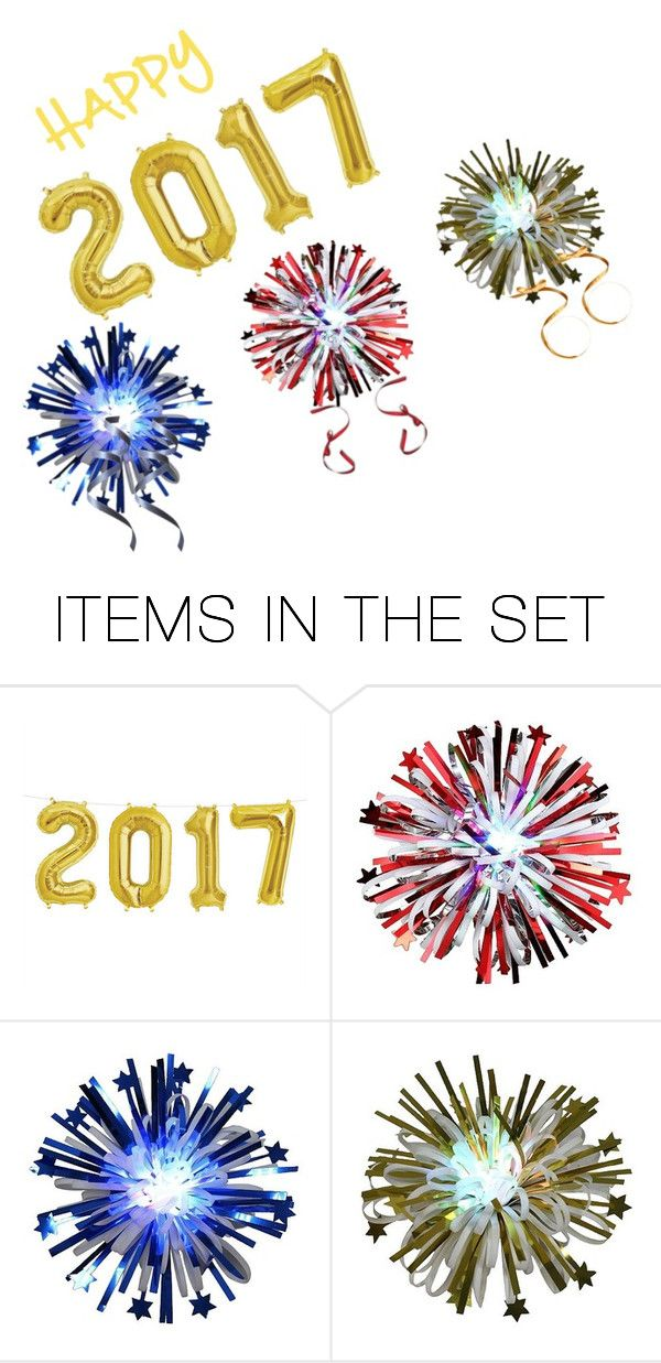 """Happy New Year"" by bootycapo ❤ liked on Polyvore featuring art"