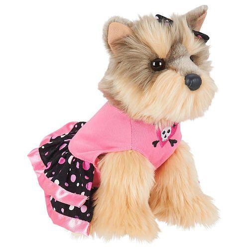 90b1ae2b62a  3  3 FAO Schwarz 9 inch Plush Yorkie Lap Dog - Gray Tan - FAO Schwarz -  Cats   Dogs - FAO Schwarz®  3  3