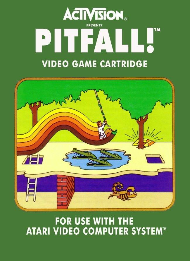 Las Portadas De Los Juegos De Atari 2600 Molaban Y Estas 17 Lo