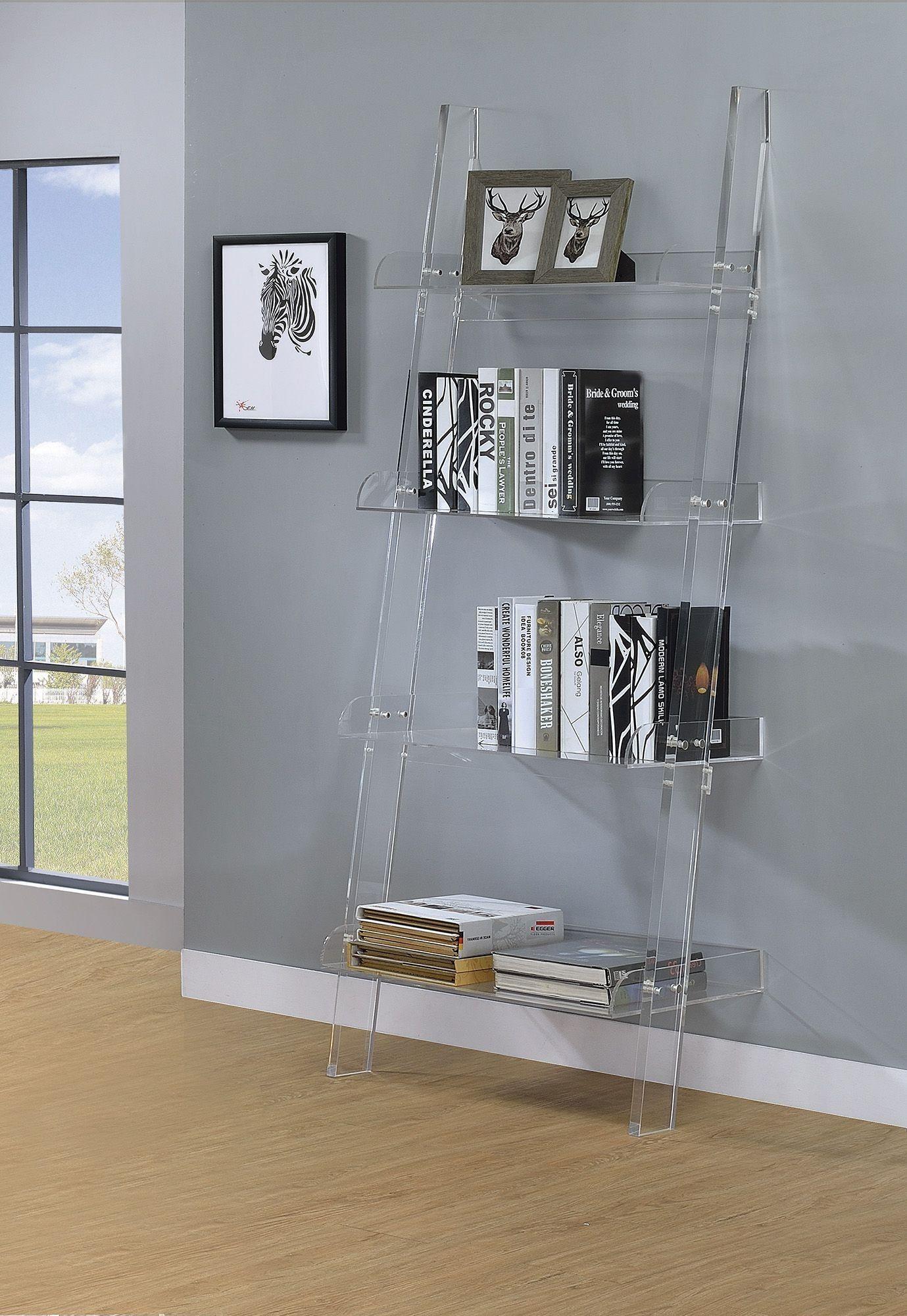 Amaturo Acrylic Open Shelf Bookcase 375 Cheapest