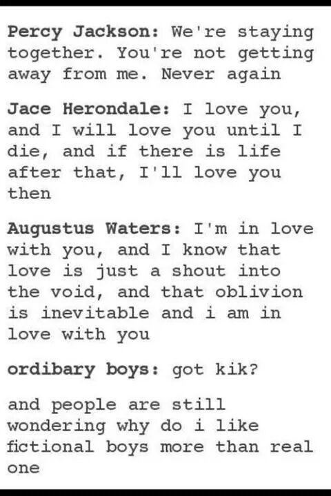 FICTIONAL BOYS FOR THE WIN XD