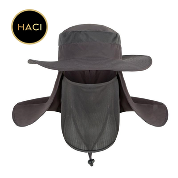 Haci Casual Cover Face Fishing Uv Protect Travel Hat Sun Hats Fishing Hat Outdoor Cap