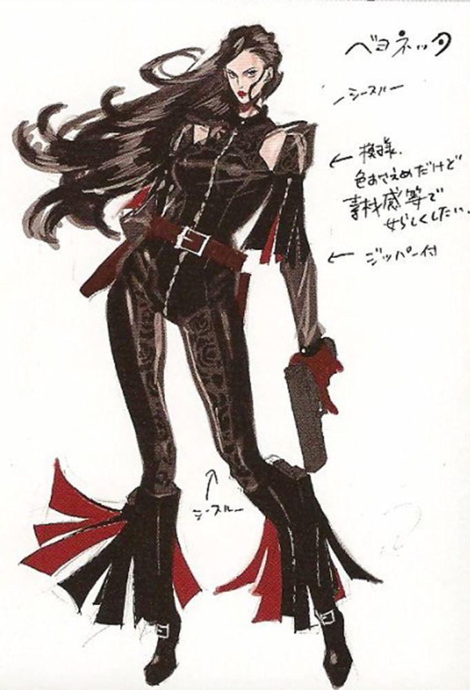 Bayonetta concept art