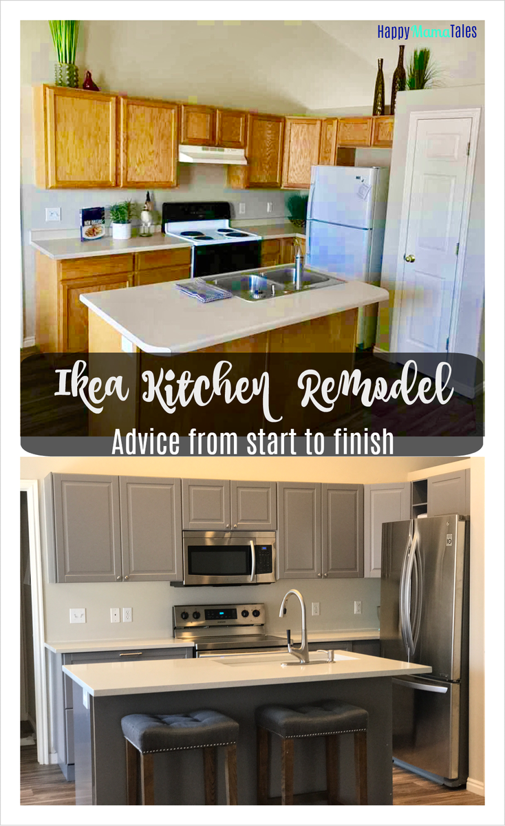 Ikea kitchen with before and after photos for the home in