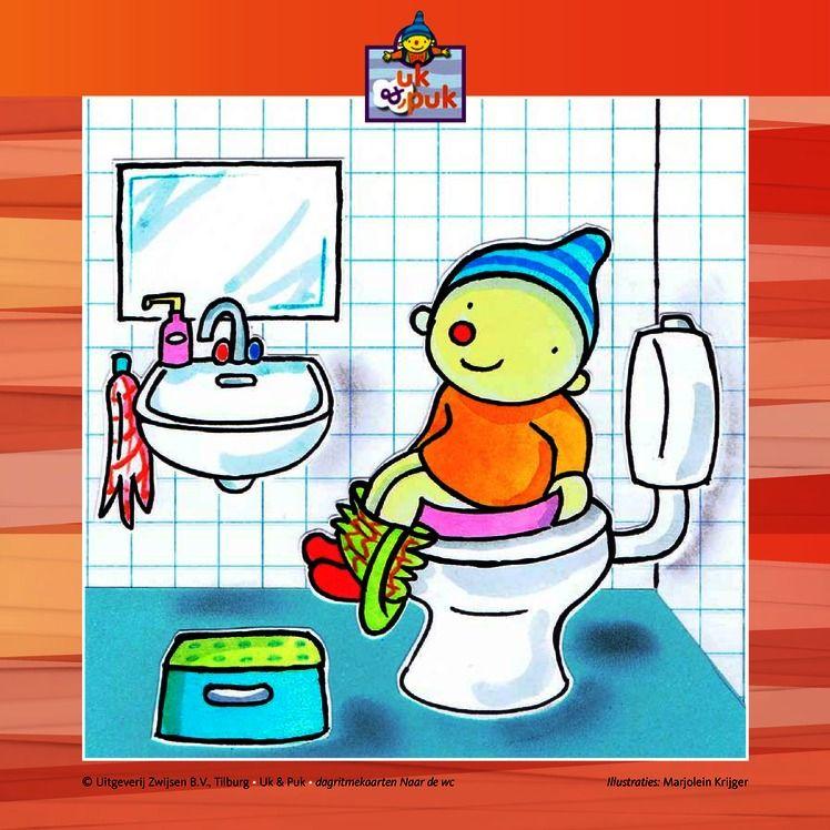 naar de wc dagritmekaarten uk puk school