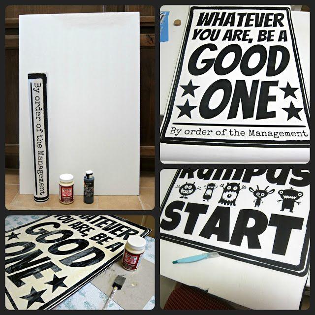 Make Your Own Poster Wall Art   Morenas Corner