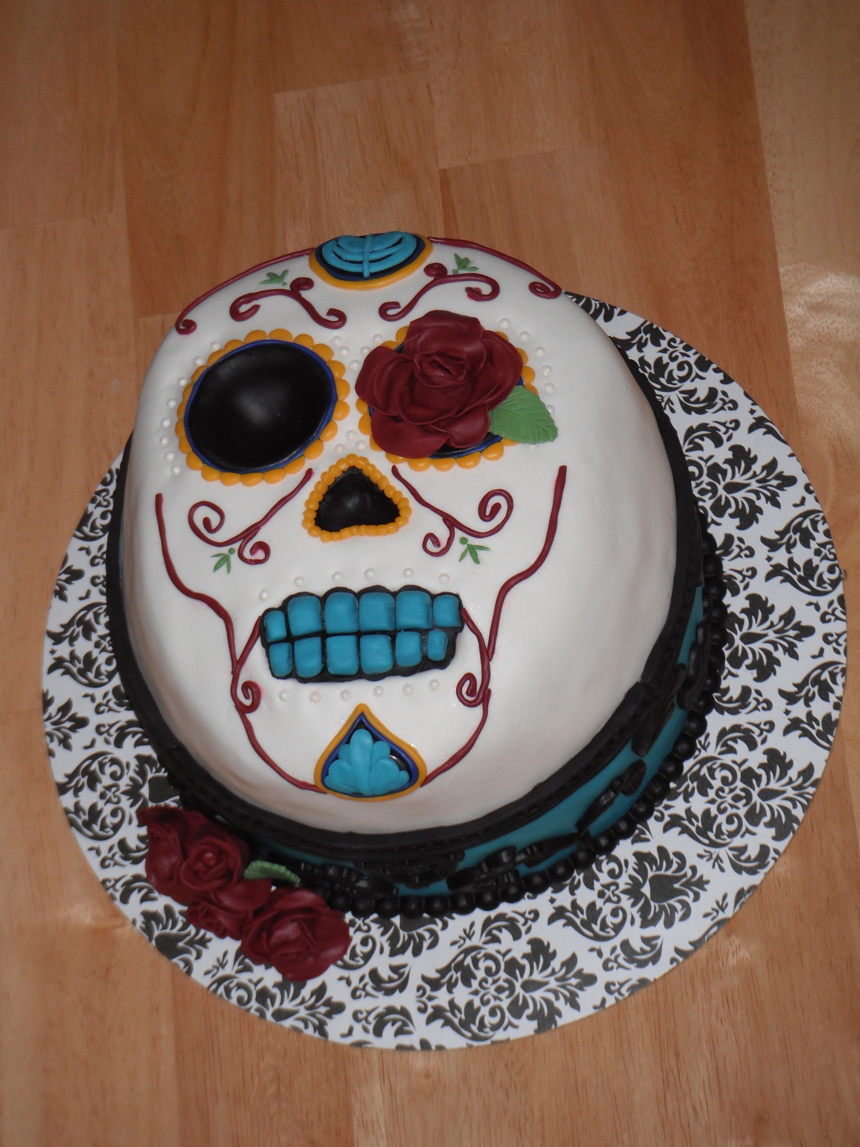 Dia De Los Muertos Day Of The Dead Cake Cake For My Husbands
