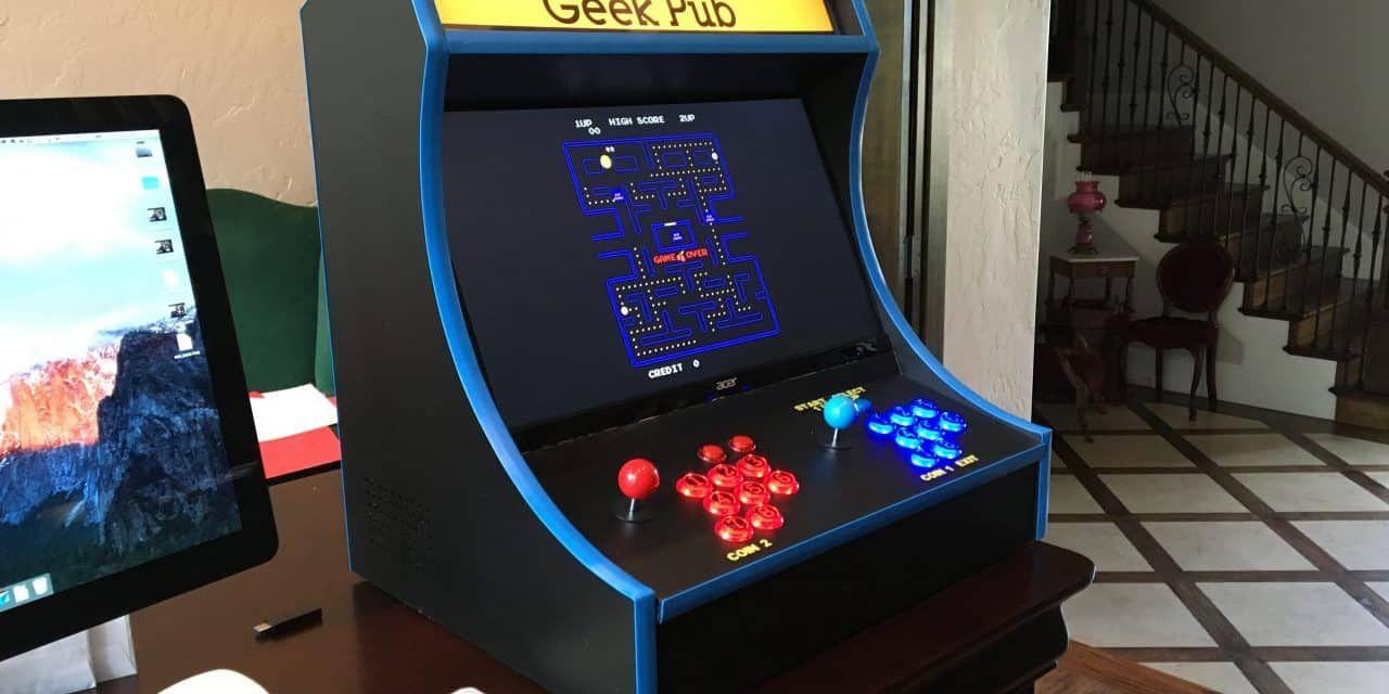 Build a RetroPie Bartop Arcade The Geek Pub in