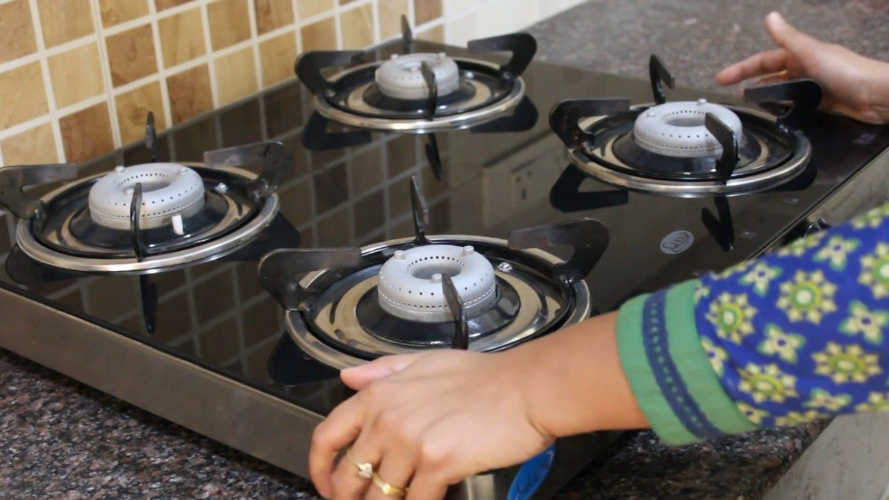 GLEN 4 Burner Glass Cooktop Gas Stove (GL 1041 GT AI) : un-boxing and review