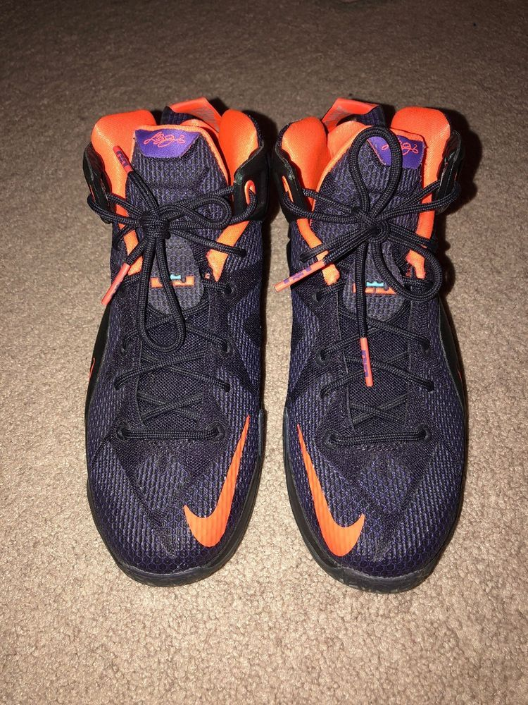 23e2e0857f0f ... uk 2014 nike lebron xii 12 instinct purple basketball shoes  sneakersmens size 7 fashion ba4e2 b135d