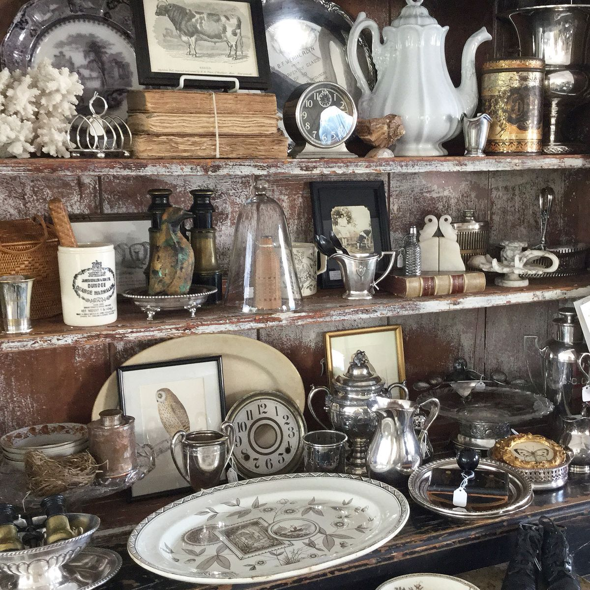 Pin By Gwen Oldfield On Display Antique Booth Displays