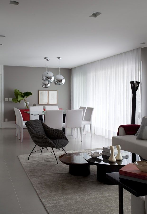 Apartamento sofisticado e feminino (Foto: Marco Antonio / divulgação ...