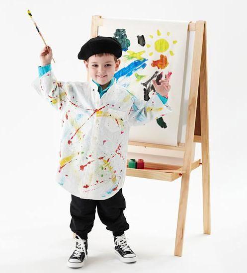 fasching kostüme kinder jungen maler | Kostüme | Pinterest