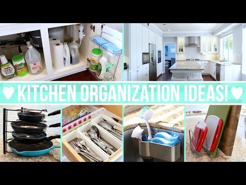 1 Kitchen Organization Ideas Youtube Kitchen Organization