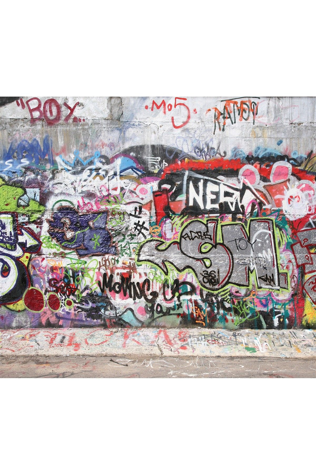 Graffiti wall wallpaper unwanted graffiti pinterest art