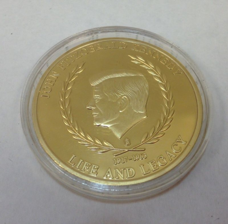 John F Kennedy Inaugural Speech Commemorative Coin Visit Our