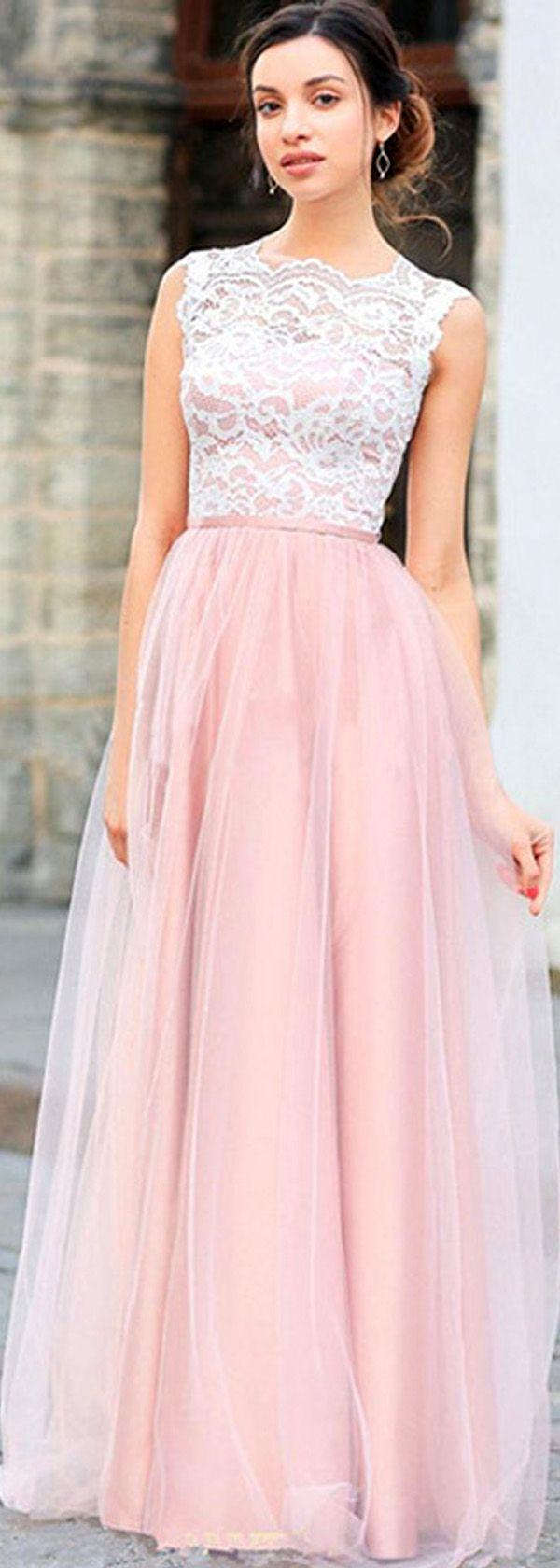 Encantador Vestidos Modestos Para Prom Cresta - Colección de ...