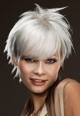 Platinum blonde, silver and gray can also hide gray hair | Best ...