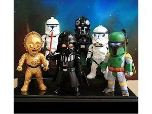 Camera Caché Star Wars : Se retrouver dans star wars en sortant des toilettes caméra