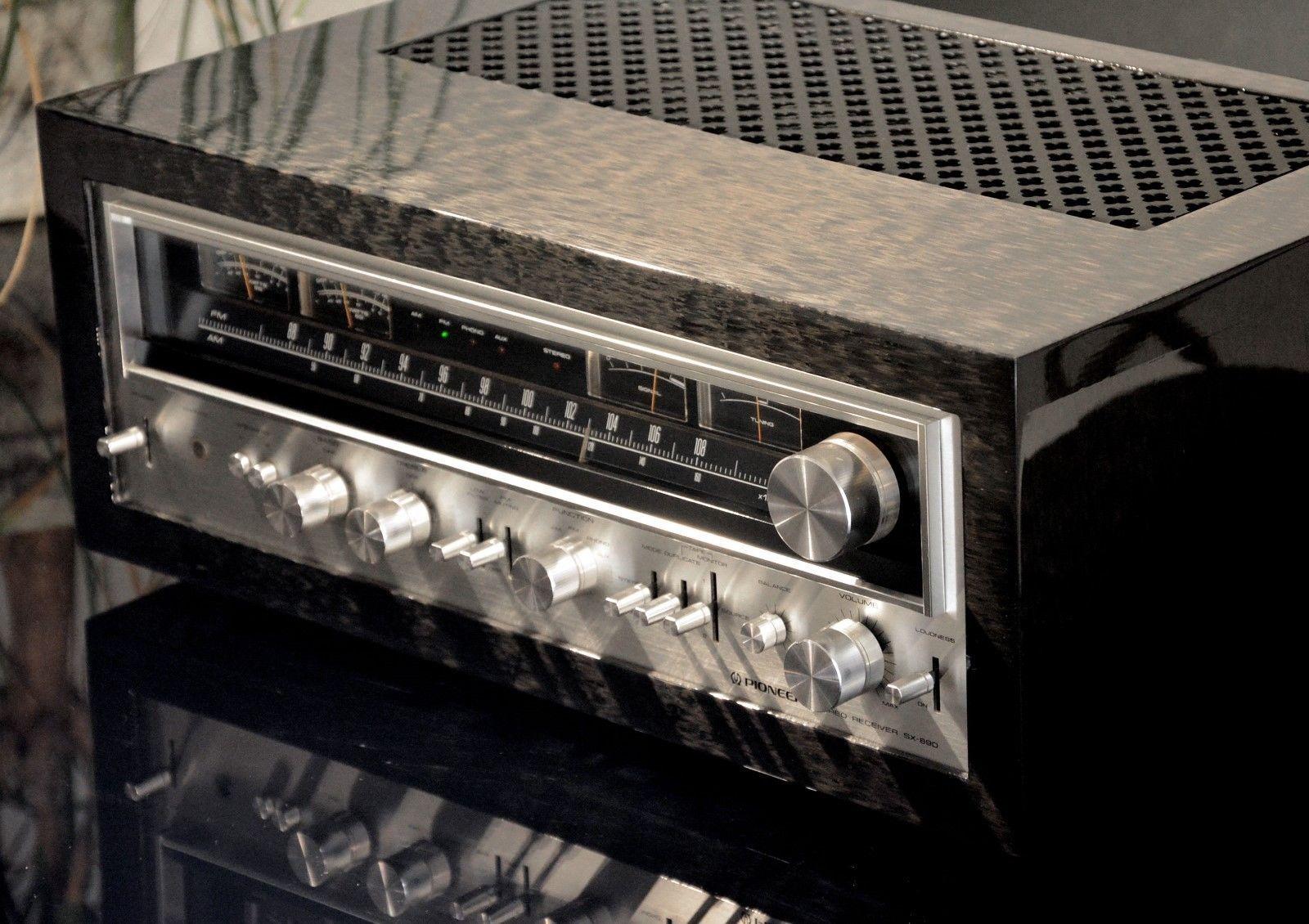 Details about Pioneer SX-890 ec, Vintage Stereo Receiver mit