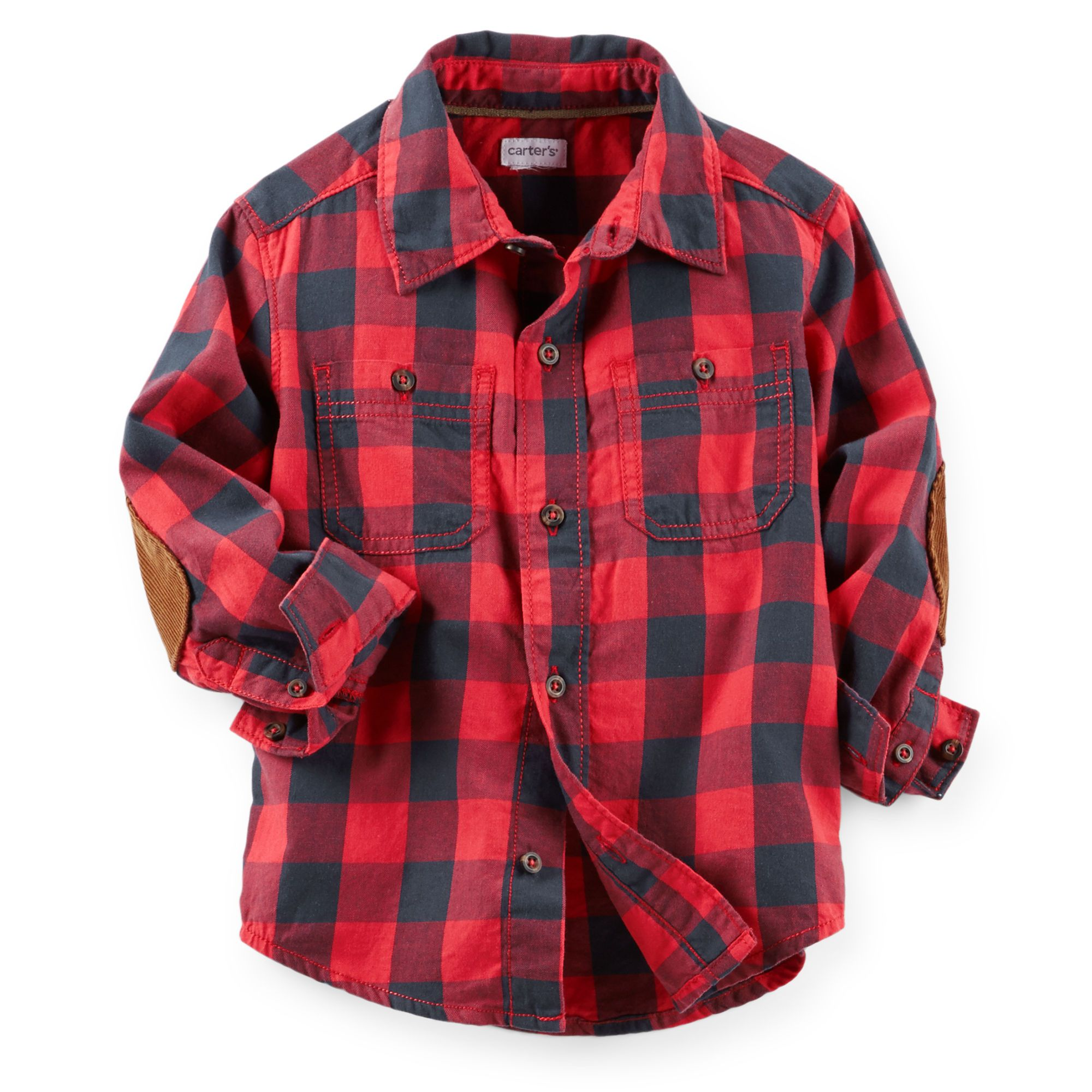 Flannel Button-Front Shirt | Carter's