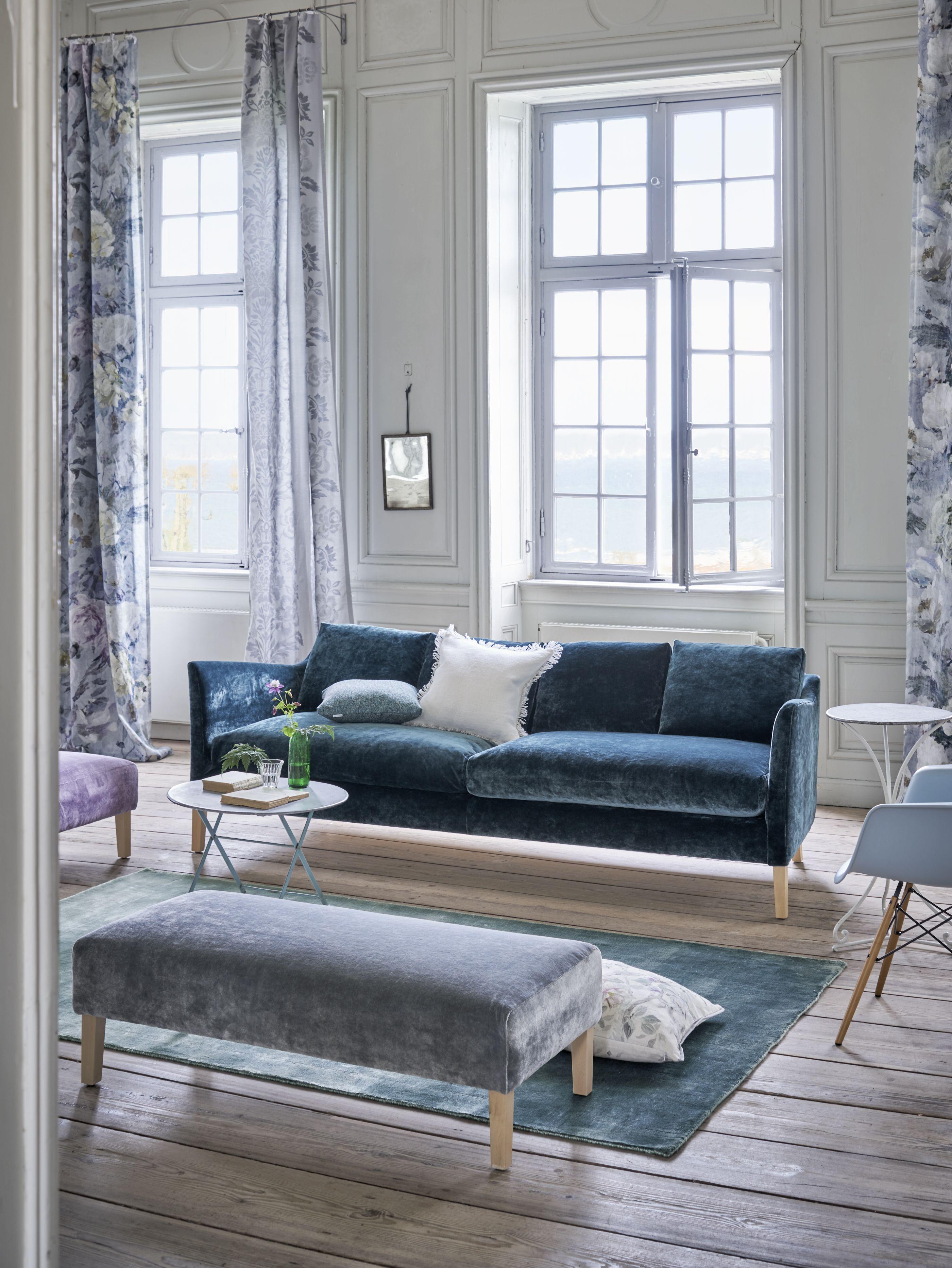 Design My Living Room Online: Designers Guild Milan Sofa