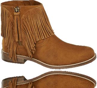 Brazowe Botki Damskie Graceland 1110247 Cowboy Boots Boots Fashion